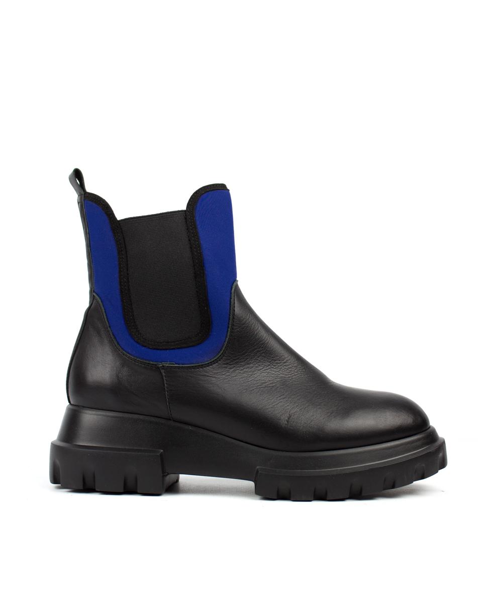 W20-542 nairobi negro / sub azul / elástico negro