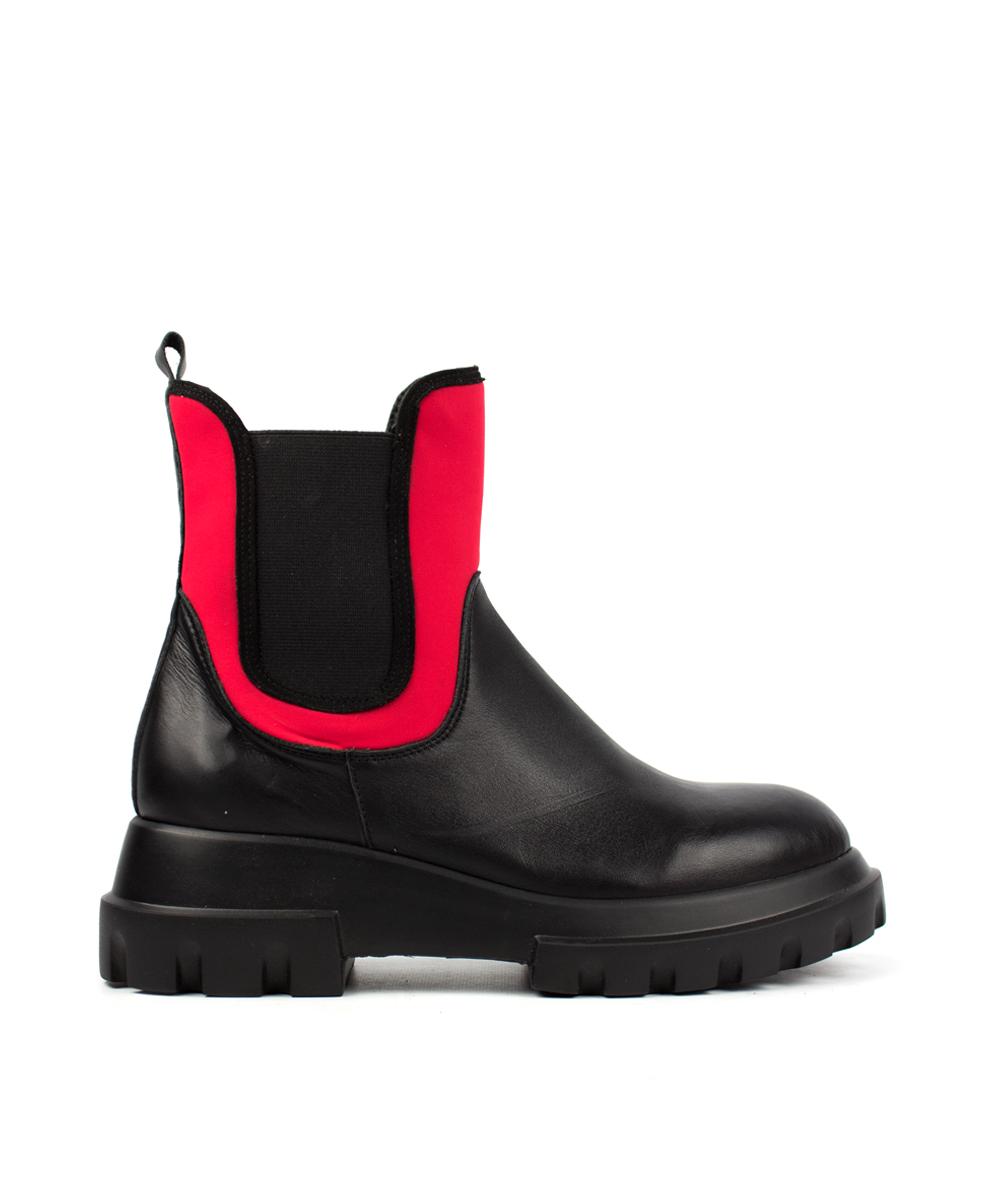 W20-542 nairobi negro / sub rojo / elástico negro